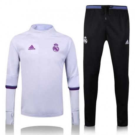 Водолазкой тренировочные костюмы UEFA реал мадрид белый 2016 2017