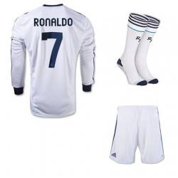 Форма реал мадрид роналдо 7 белая 2012 2013