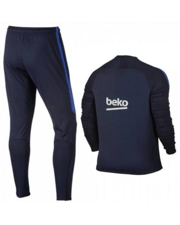 Для детей спортивный костюмы барселоны 2016 2017 темно синий