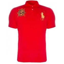 футболка поло мужская красная поло ральф лаурен