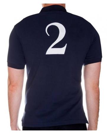 Футболка поло мужская темно синий поло ральф лаурен