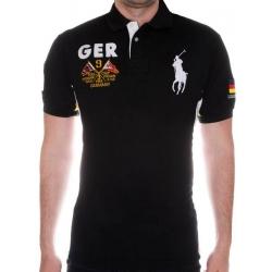футболка поло мужская черная поло ральф лаурен