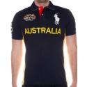футболка поло мужская темно синяя поло ральф лаурен оригинал