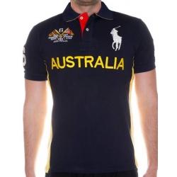 футболка поло мужская темно синяя поло ральф лаурен