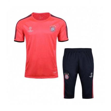 Купить Мужская тренировочная футбольная форма Баварии оранжевая