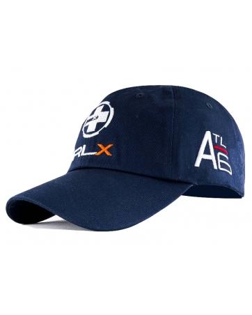 Бейсболка спортивная темно синяя RLX ATL6