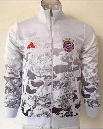 Куртки олимпийки Бавария белая