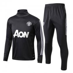 Тренировочный костюм Манчестер юнайтед черный