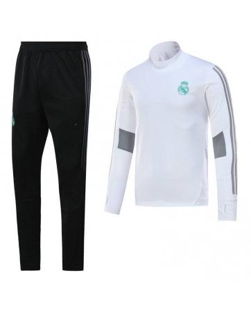 Водолазкой тренировочные костюмы UEFA реал мадрид белые 2018 2017 белый