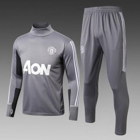 Тренировочный костюм Манчестер юнайтед серый