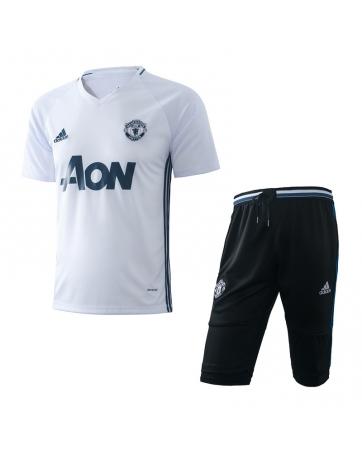 Форма костюм Манчестер юнайтед белый