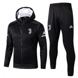 cпортивные костюмы с капюшоном ювентус черный