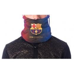 Спортивный шарф горловик барселоны темно синяя