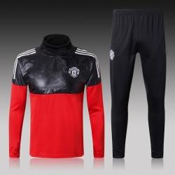 Тренировочный костюм Манчестер юнайтед 2018 2019 красный