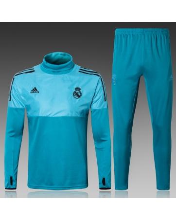 Водолазкой тренировочные костюмы UEFA реал мадрид 2018 2019 графитовый