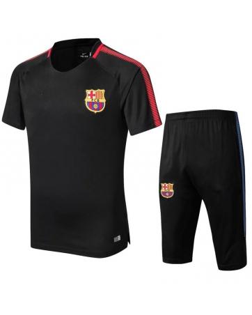 Форма тренировочная барселоны шортами 2018 2019 черная