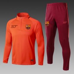 Тренеровочные костюмы Барселона оранежевый оранжевые