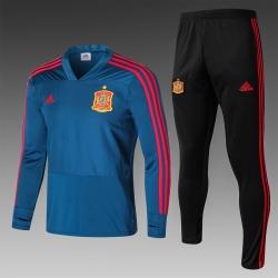 спортивные костюмы испания красный 2018 2019 грфаитовйы