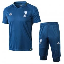 Тренировочный костюм Juventus 2018 2019 темно графитовый