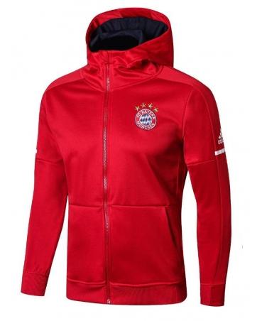 с капюшоном cпортивные костюмы Bayer munch красный