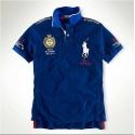 футболка поло синяя polo ralph lauren