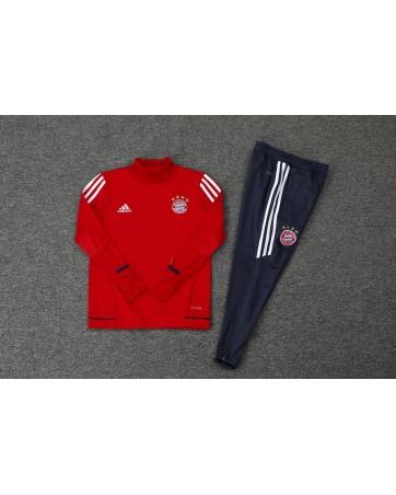 Детский тренеровочный костюм баварии красный