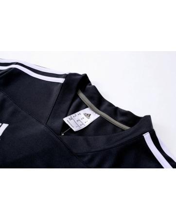 Детские тренировочные (Черный/Белый) костюмы реал мадрид