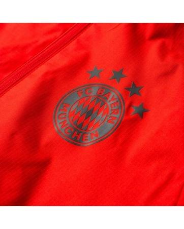 Куртка ветровка Bayern München красная 2018 2019