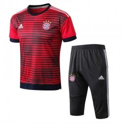Футбольный костюм Баварии мюнхен красный 2018 2019