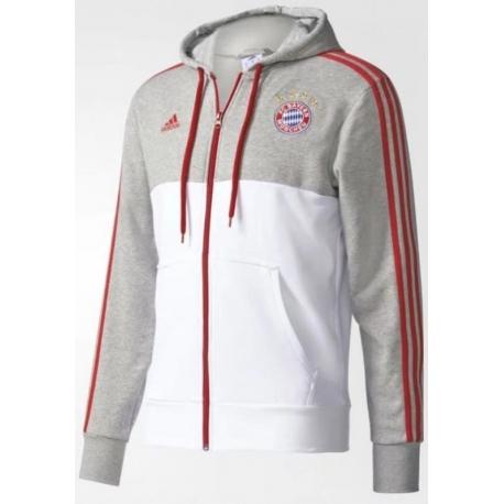 Хлопковая тослтовка Bayern München серая 2018 2017