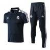 Футбольный костюм тренировочный реал маднрид темно синий 2018