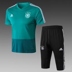 Футбольный костюм тренировочный германии 2018 2019 зеленая