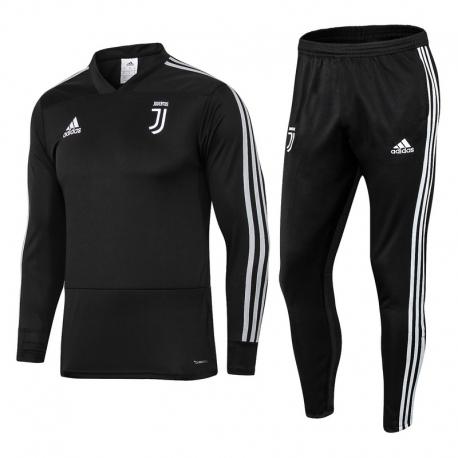 Детский костюмы ювентус Juventus Ronaldo 2018 2019 черный