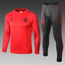 Тренировочный костюм Баварии мюнхен 2018 2019 красный