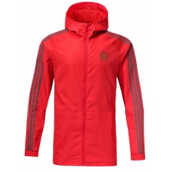 Куртка ветровки Баварии красный серая