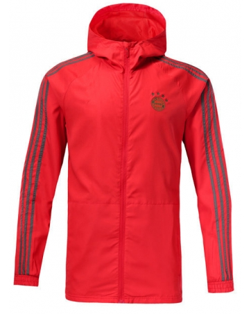 Куртка ветровки bayern красный серая