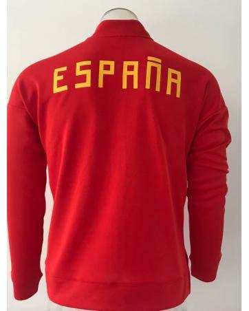 Олимпийки испании 2018 2019 красный