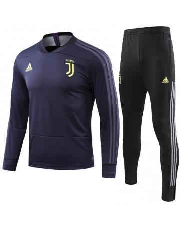 Костюм с водолазкой 2018 2019 Juventus темно синие