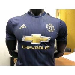 Новотехнологичная футболка Манчестер юнайтед пепельный