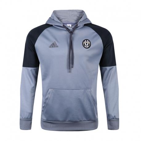 Толстовка свитер худи Juventus серая