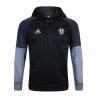 Толстовка свитер худи Juventus черно серый