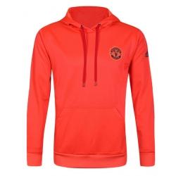Толстовка свитер худи манчестер юнайтед оранжевый