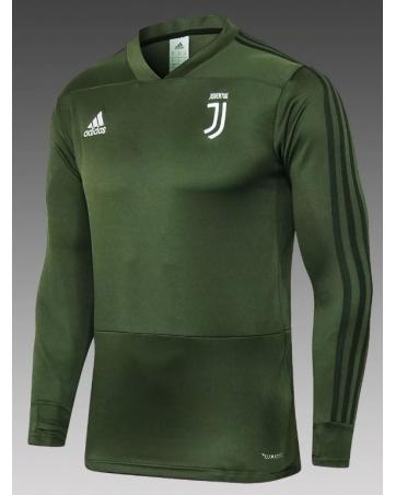 Толстовка свитер ювентус зеленый