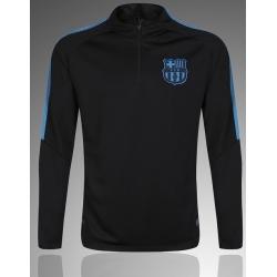 Тренеровочный свитер барселоны черный синий