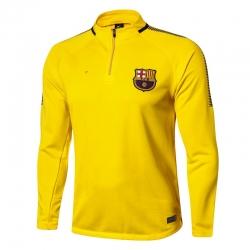 Тренеровочный свитер барселоны желтый