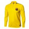 Тренеровочный свитер барселоны barcelona желтый