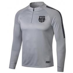 Тренеровочный свитер барселоны серый