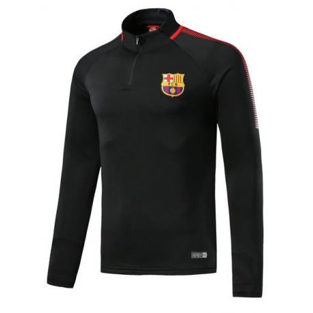 Тренеровочный свитер барселоны barcelona черный красный