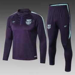 Детские спортивные костюмы Barcelona 2018-2019 темно синий