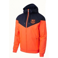 Куртка ветровки барселоны оранжевая